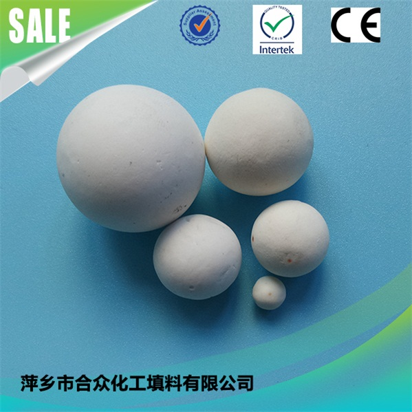 Acid and alkali resistant aluminum oxide chemical filler ball aluminum oxide ceramic ball chemical filler ball 耐酸耐碱氧化铝化工填料球氧化铝陶瓷球化工填料球